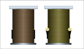 difference between coils of solenoids