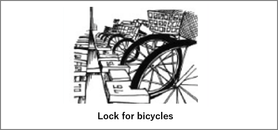 lock for bicycles