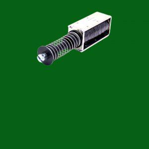 Long stroke solenoid
