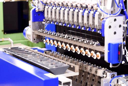 machine for coils