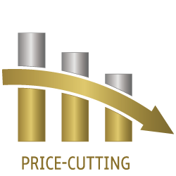icon of price cutting
