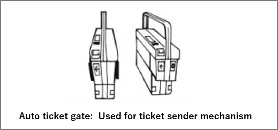 auto ticket gate