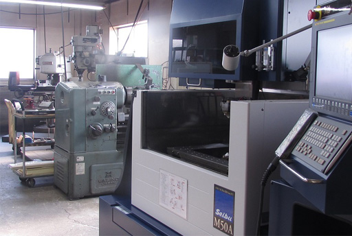 machine for metail die
